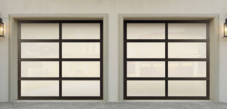 alumunium garage door model 8850