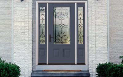 Steel or Fiberglass Front Entry Doors