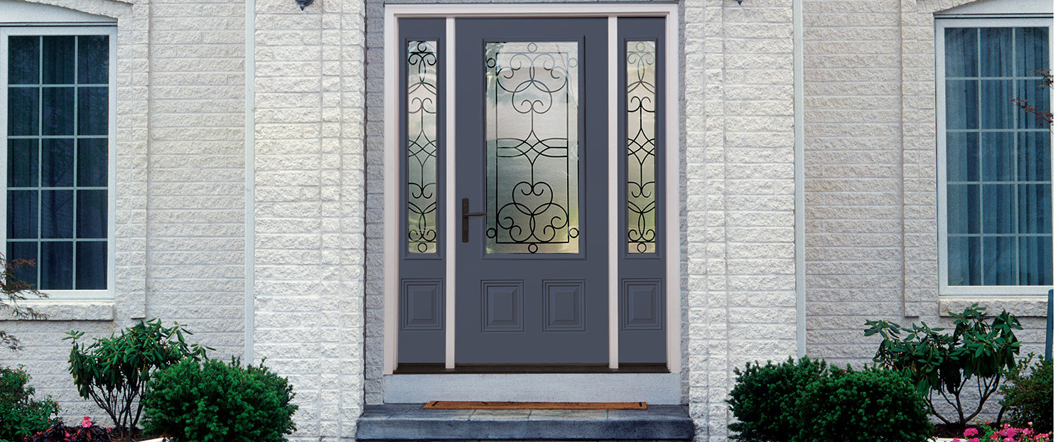 Steel or fiberglass front entry doors which door is dest for Therma tru front door