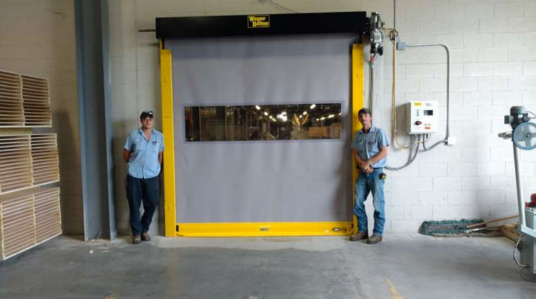 High Speed Commercial Garage Door